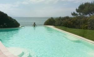 Infinity pool @Hotel Punta Negra.