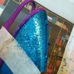 5. Lijmspray en glitters